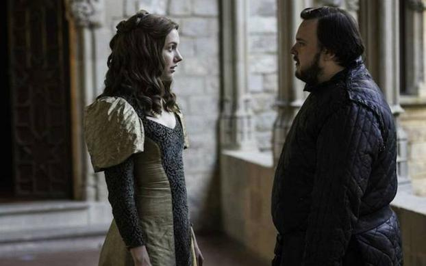 Samwell Tarly, con Gilly en Antigua