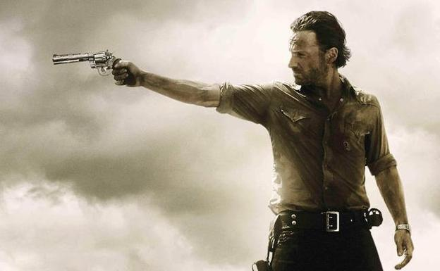 Rick Grimes, interpretado por Andrew Lincoln, protagonista de 'The Walking Dead'./