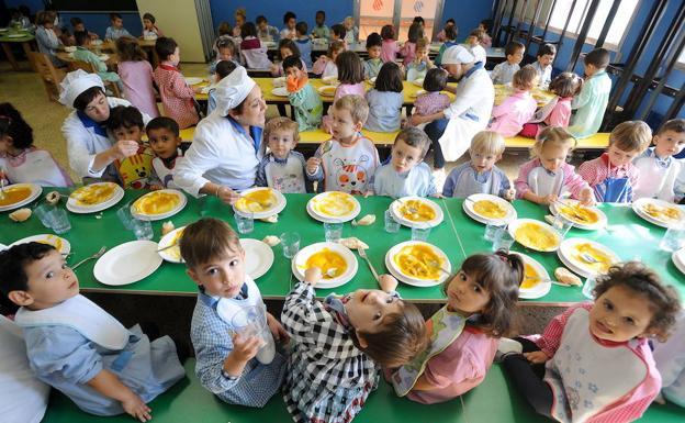 El gobierno vasco dise a un plan para mejorar la for Plan de comedor escolar