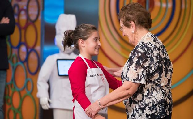 Esther, María Blanco, Gonzalo y Lucía, a la final de Masterchef Junior