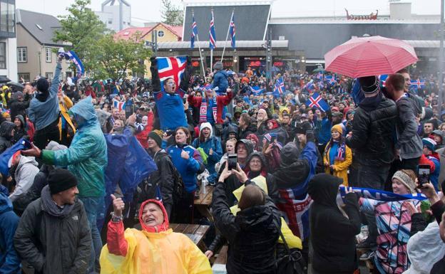 ¡Récord de audiencia! El 99.6% de Islandia sintonizó debut en Mundiales