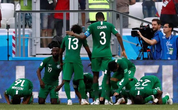 Arabia Saudita se despide del Mundial con victoria