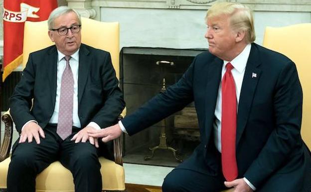 Trump propone derogar aranceles entre su país y la UE