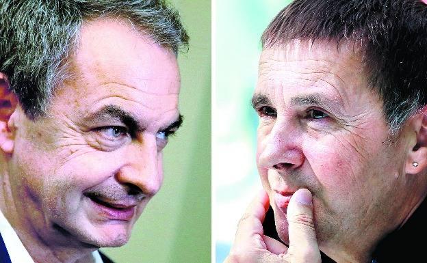 ¡Pillados! Zapatero y Otegi se reúnen en secreto