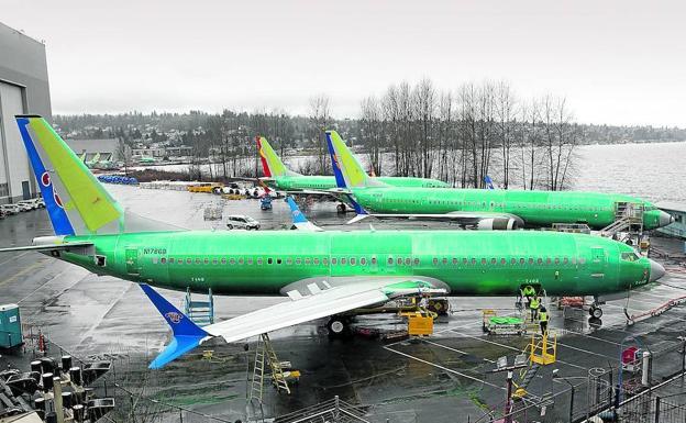 El 737 MAX de Boeing estaba configurado para descender en su despegue