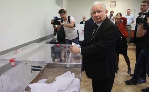 El partido de extrema derecha puede tener un gobierno mayoritario en Polonia