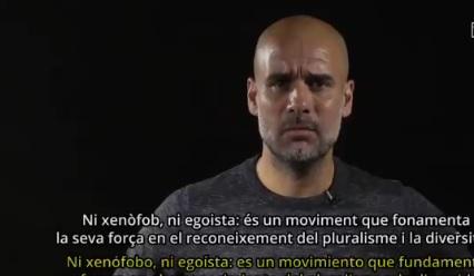 Repudio del Barsa y Pep Guardiola