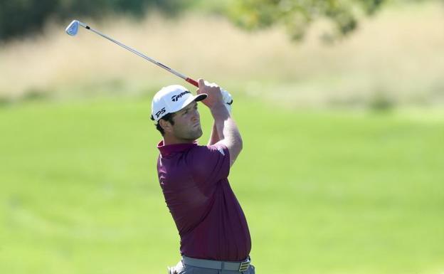 Sebastián Muñoz, en el top 10 del torneo CJ Cup Shadow Creek