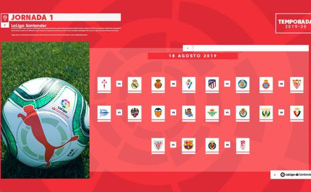 Calendario Liga Bbva 2020.Calendario Del Alaves En La Liga 2019 2020 Alaves El