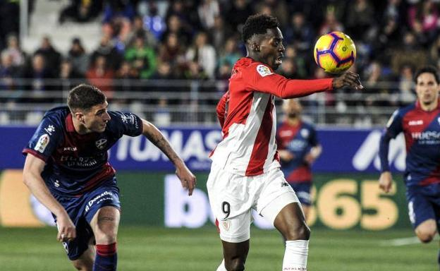 Iñaki Williams, durante un partido.