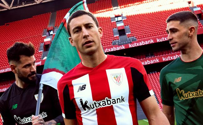 Equipación del Athletic Club Bilbao: camiseta, pantalon y medias