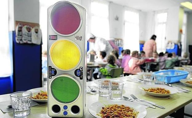 Educación extenderá la instalación de «semáforos de ruido» en los ...