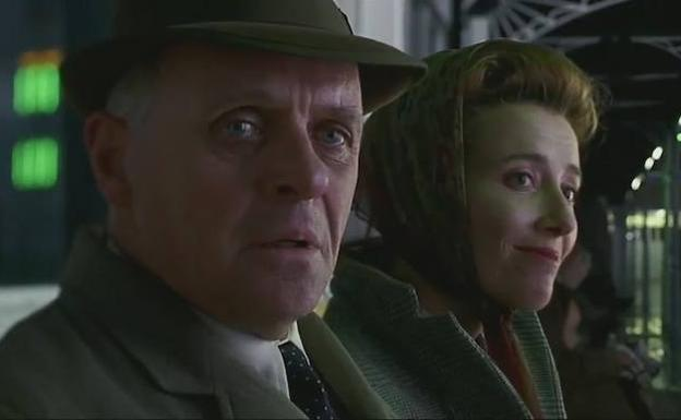 Anthony Hopkins y Emma Thompson en 'Lo que queda del día' (1993).