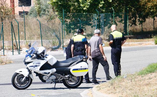La Policía Local investiga las causas del accidente. /Jesús Andrade