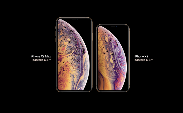 iPhone Xs y iPhone Xs Max /Apple