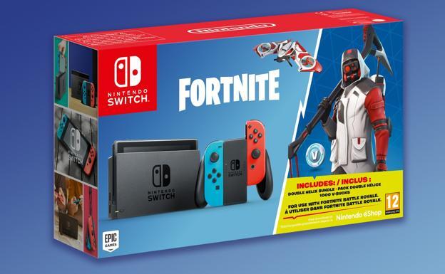 Nintendo Lanzara Un Pack De Switch Con Fortnite El Correo