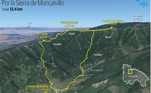 Ruta Piedra Hincada (1.272 m.)