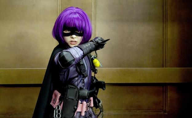 Chloë Grace Moretz en 'Kick-Ass'.