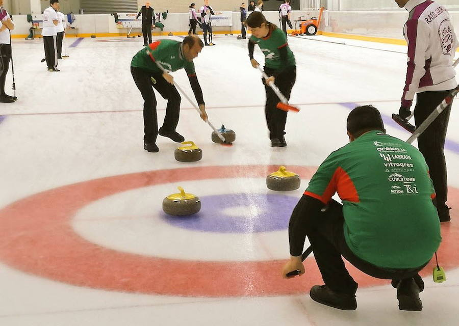 Club de curling Harrikada./