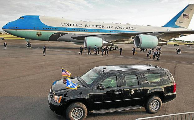 El Air Force One, avión del presidente de Estados Unidos. /EFE
