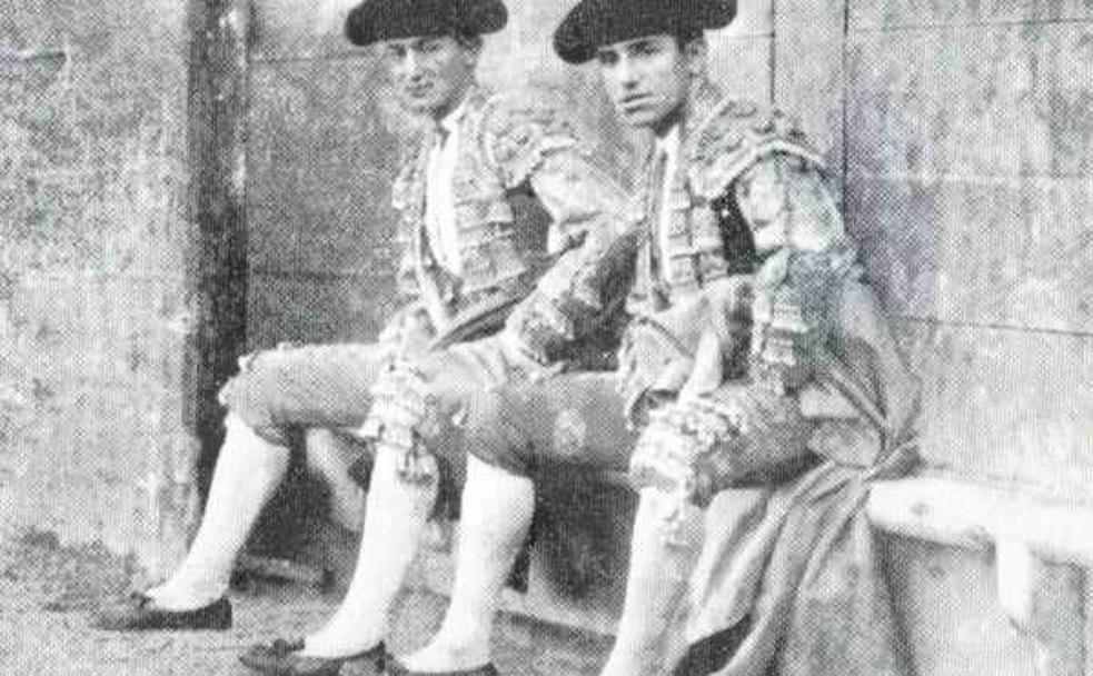 Joselito y Belmonte, dos figuras que se dieron cita en las fiestas de Bilbao de 1919. /