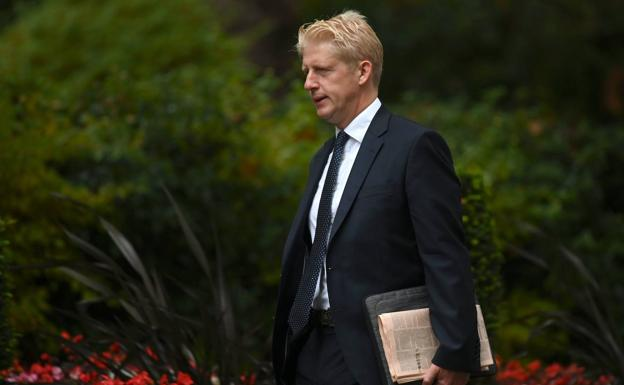 Jo Johnson, hermano del primer ministro de Reino Unido, Boris Johnson./