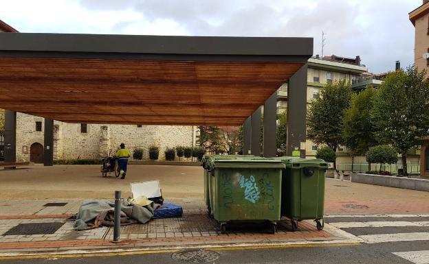 Amurrio eliminará los contenedores soterrados de la plaza de San Antón - El Correo