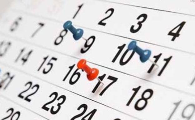 Calendario laboral 2020 España: los 14 días festivos | El Correo