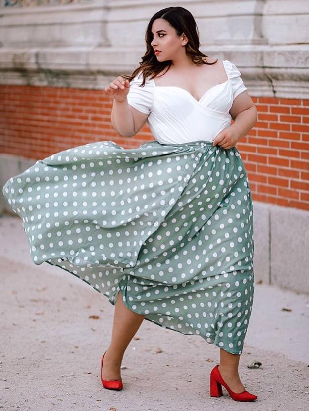 Asi Es Janire La Modelo Bilbaina De Tallas Grandes Que Reclama Su Sitio En La Moda El Correo