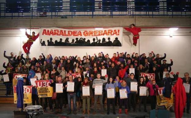LAB explica sus motivos para la huelga del día 30 en Ayala