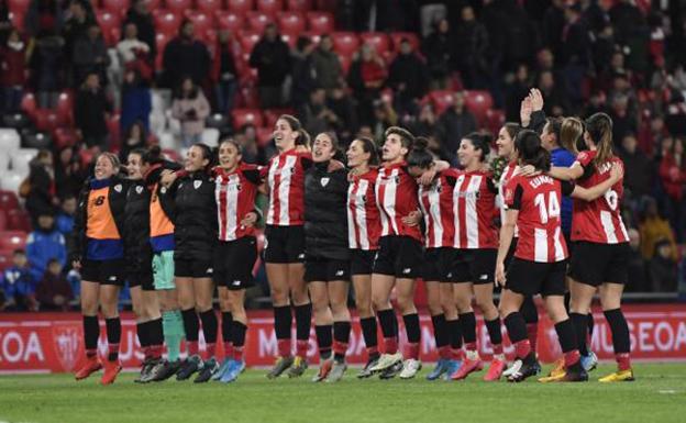 El Athletic se jugará en Las Gaunas el pase a su tercera final de la Copa de la Reina