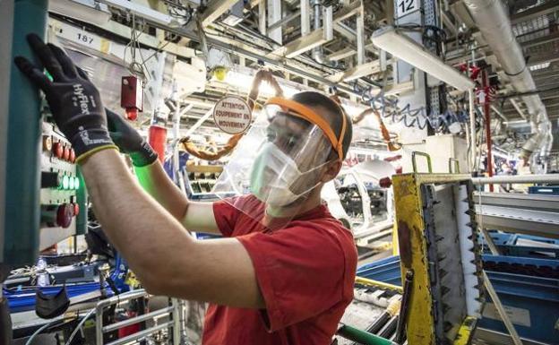 La actividad de la industria vasca se desplomó un 14,3% en el mes ...