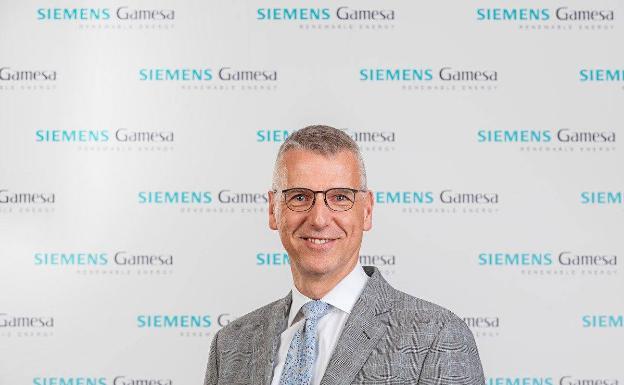 El consejero delegado de Siemens Gamesa, Andreas Nauen, /SG