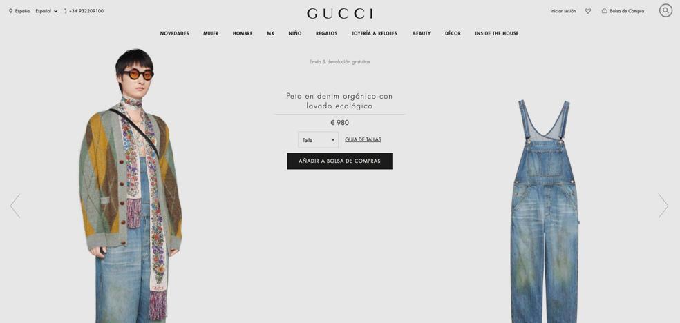 La Nueva Polemica De Gucci Su Peto Vaquero Sucio Que Cuesta Casi 1 000 Euros El Correo