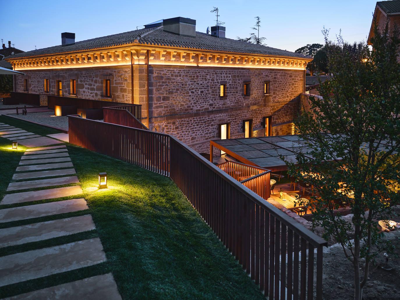 Fotos: El lujo de los Rothschild en el hotel Palacio de Samaniego - El Correo