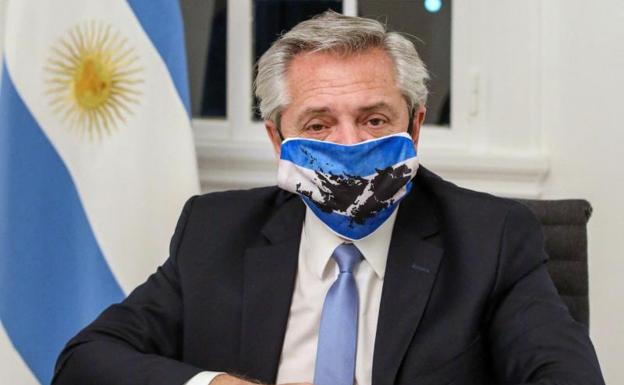 Alberto Fernández, presidente de Argentina. /AFP