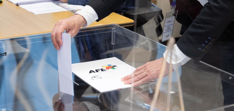 Suspendido el recuento de votos en la AFE por «agotamiento» | El Correo