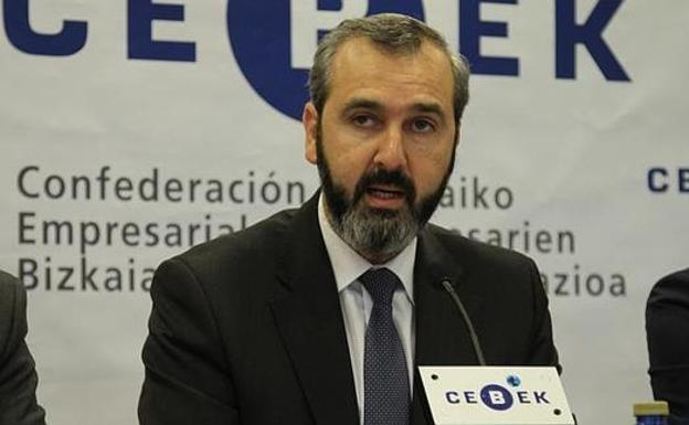 El presidente de CEBEK, Iñaki Garcinuño./