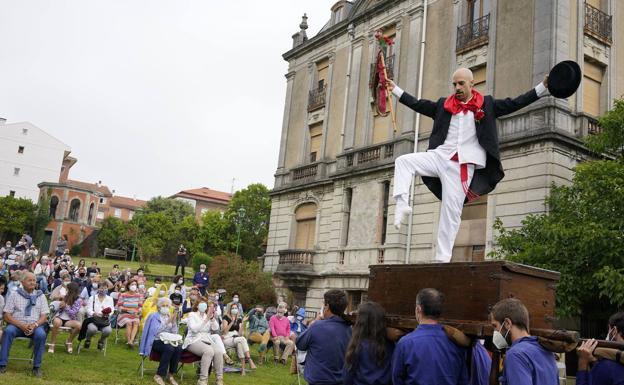 La 'Kaxarranka' se celebró por primera vez el año pasado en el Palacio Abaroa./ignacio pérez