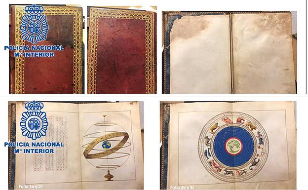 Recuperan un atlas del siglo XVI valorado en dos millones