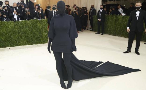 La cantante Kim Kardashian./Afp