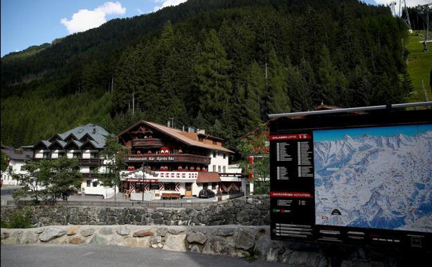 The Ischgl ski area.