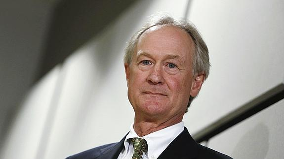 Lincoln Chafee. /