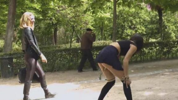 Peliculas porno en calles de madrid Los Videos De Numerosos Rodajes De Peliculas Porno En Madrid Circulan Por Internet El Correo